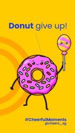 Phone Wallpaper Donut